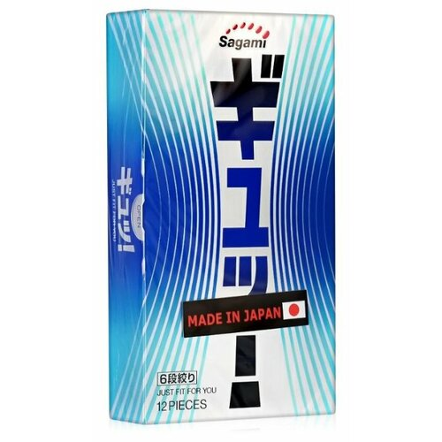 Презервативы Sagami 6 Fit V (12 шт.) sagami 6 fit v premium 12шт презервативы супер облегающие латекс 0 06 мм