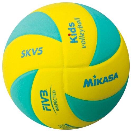 Волейбольный мяч Mikasa SKV5 зелено-желтый