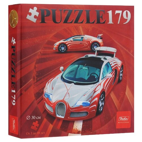 Купить Пазл Hatber Sport car (179ПЗк4_12404), 179 дет., Пазлы