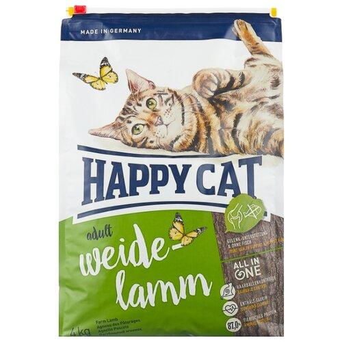 Корм для кошек Happy Cat Supreme при чувствительном пищеварении, с ягненком 4 кг