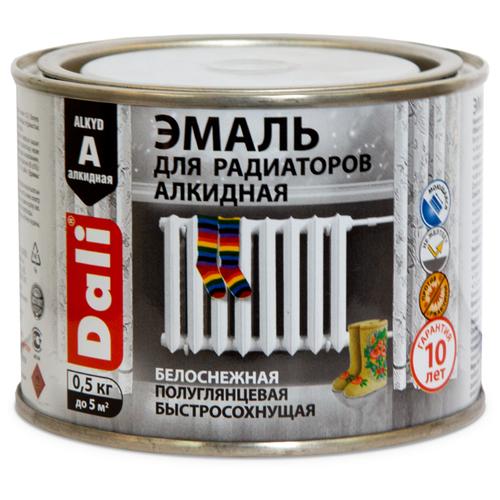 Эмаль алкидная (А) DALI для радиаторов 80204 белый