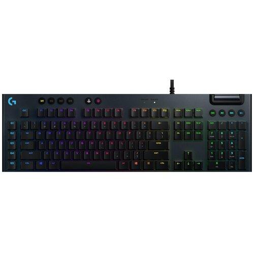 Игровая клавиатура Logitech G G815 RGB Mechanical Gaming Keyboard Black USB Tactile Switch