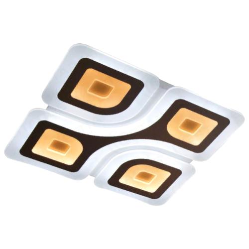 Светильник светодиодный Estares Geometria Quadrate 85W Q-500-WHITE-220-IP44, 85 Вт управляемый светодиодный светильник estares saturn 25w rgb r 328 shiny white 220 ip44 2019