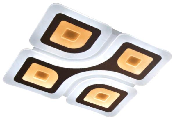 Светильник светодиодный Estares Geometria Quadrate 85W Q-500-WHITE-220-IP44, LED, 85 Вт — цены на Яндекс.Маркете