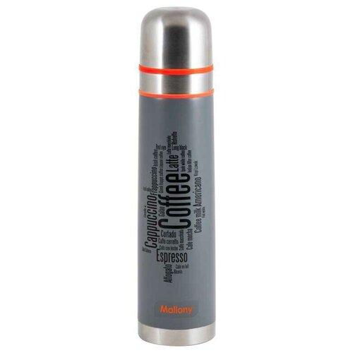 Классический термос Mallony Forte, 1 л серый
