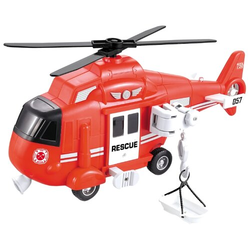 Купить Вертолет Big Motors WY750B 1:16 32 см красный, Машинки и техника