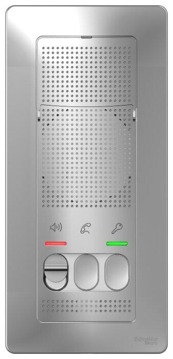 Дверное переговорное устройство Schneider Electric BLNDA000013 серебро