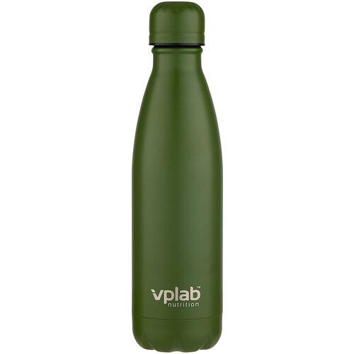 Термобутылка vplab Metal Water Thermo bottle, 0.5 л милитари недорого