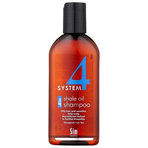 Sim Sensitive SYSTEM 4 Shale Oil Shampoo 4 Терапевтический шампунь № 4 для очень жирной, чувствительной и раздраженной кожи головы 215 мл