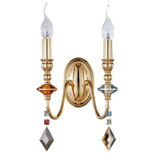 Фото - Бра Crystal Lux MERCEDES AP2 GOLD/COLOR бра crystal lux mercedes ap2 gold color mercedes