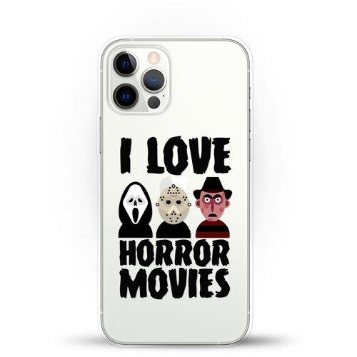 Силиконовый чехол Фильмы Ужасов на Apple iPhone 12 Pro Max