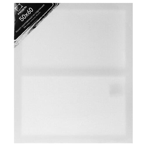 Холст Малевичъ на подрамнике 50x60 см (215060) малевичъ пенал скрутка для кистей на короткой и средней ручке оливковый