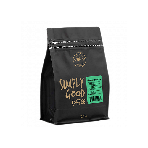 Кофе в зернах Aroma Maragogype Mexico (Марагоджип Мексика), арабика, 200 г кофе в зернах hiramur mexico