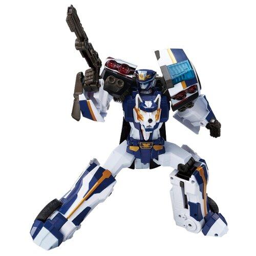 Купить Трансформер YOUNG TOYS Tobot Galaxy detectives Sergeant Justice 301088 белый/синий, Роботы и трансформеры