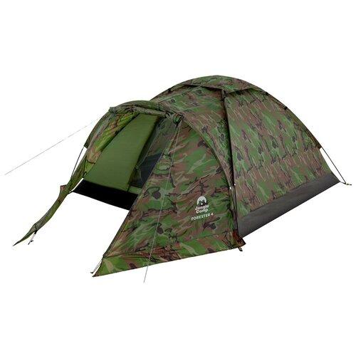 Фото - Палатка Jungle Camp Forester 4 камуфляж комплект jungle camp event set 120 green