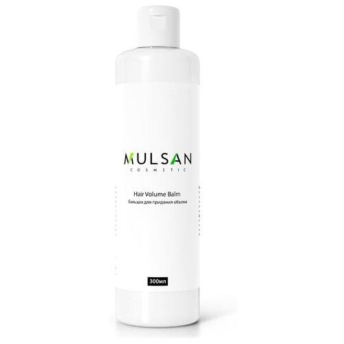 MULSAN бальзам для придания объема волосам с маслом миндаля и экстрактом клевера, 300 мл