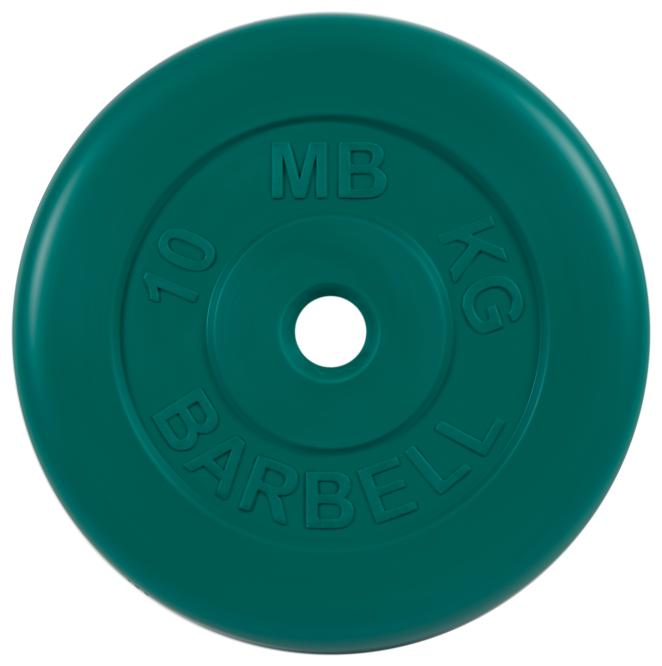 Диск MB Barbell Стандарт MB-PltC31 10 кг