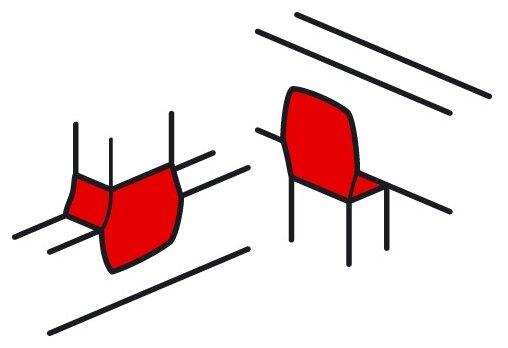 Т-разветвитель (тройник) для настенного кабель-канала Legrand 638044
