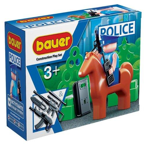 Конструктор Bauer Полиция 627 Конная полиция конструктор bauer classic 698
