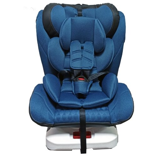 Автокресло группа 0/1/2/3 (до 36 кг) Kenga YB104 Isofix, синий автокресло группа 1 2 3 9 36 кг little car ally с перфорацией черный
