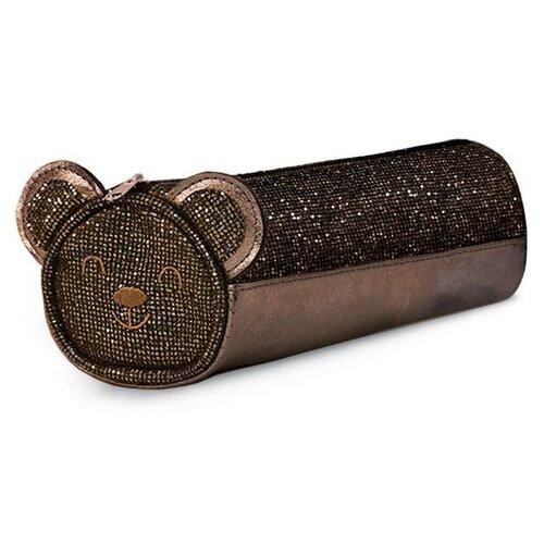 Феникс+ Пенал-косметичка Енот/Медведь (48841/43) коричневый феникс пенал косметичка монстр трак 46252 коричневый