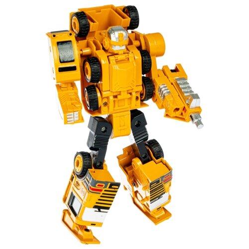 Трансформер Bondibon 2 в 1, робот-автомобильный кран, металлические детали (ВВ4924)