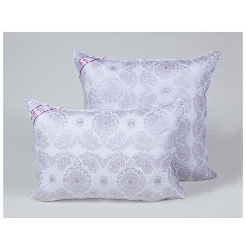 Подушка стеганная VESTA текстиль 50*70 см, шелкопряд, ткань тик, полиэстер 100%