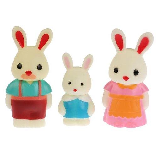 Купить Игровой набор Играем вместе Добрые игрушки - Семья зайцев B1601692-R3, Игровые наборы и фигурки