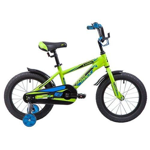 Детский велосипед Novatrack Lumen 16 (2019) зеленый (требует финальной сборки)