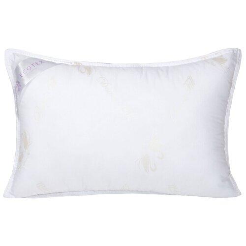 Подушка ECOTEX Лебяжий пух (ПЛС57) 50 х 70 см белый