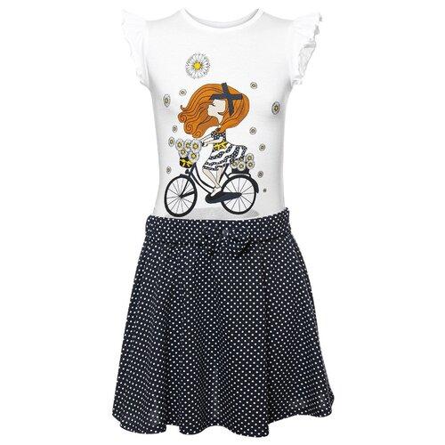 Комплект одежды M&D размер 110, белый/черный комплект черный magnetic alix m