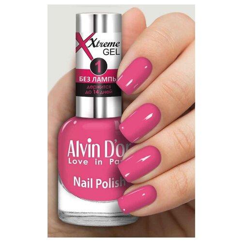 Лак Alvin D'or Extreme Gel, 15 мл, оттенок 5227 лак alvin d or extreme gel 15 мл оттенок 5215