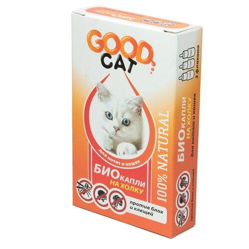 GOOD Cat капли от блох и клещей Био для кошек и котят ошейник для кошек beaphar от блох и клещей 35см