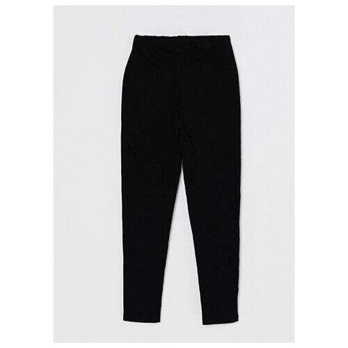 Леггинсы Sela размер 146 (11-12лет), черный брюки sela размер 146 коричневый