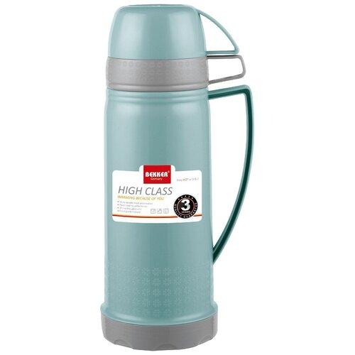 Классический термос Bekker BK-4398, 0.6 л голубой