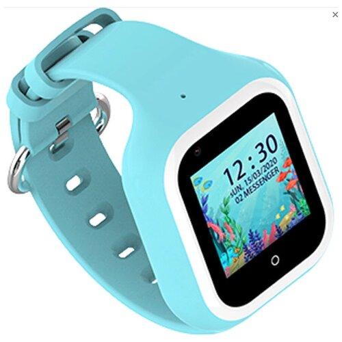 Детские умные часы Smart Baby Watch KT21, голубой умные часы smart baby watch s4 голубой