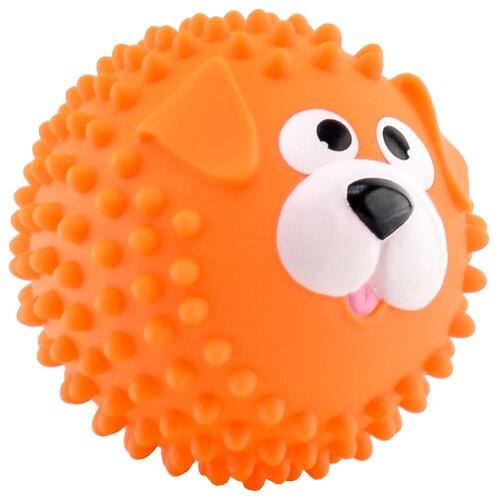 Купить Игрушка для ванной Играем вместе Мячик-собака (LX-SB10) оранжевый, Игрушки для ванной
