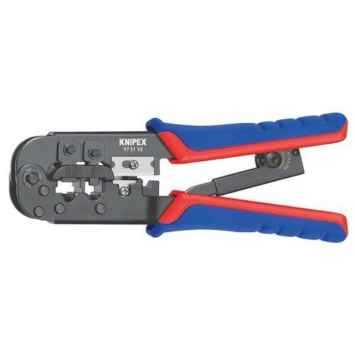 цена на Стриппер Knipex KN-975110 черный/синий/красный