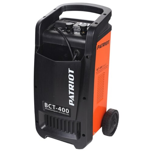 цена на Пуско-зарядное устройство PATRIOT BCT-400 Start черный/оранжевый