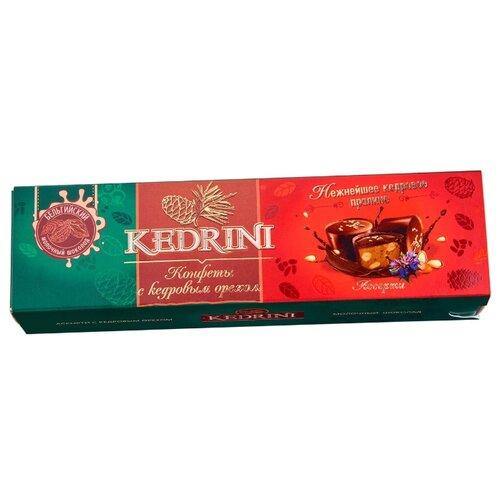Набор конфет Kedrini ассорти с кедровым орехом, молочный шоколад 45 г