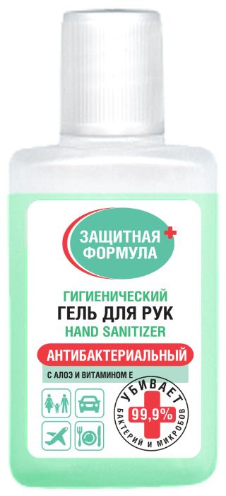 Fito косметик Гигиенический гель для рук с алоэ и витамином Е Защитная Формула