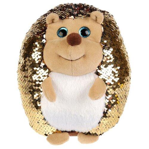 Фото - Мягкая игрушка Мульти-Пульти Ежик из пайеток 19 см мягкая игрушка мульти пульти ежик 20 см