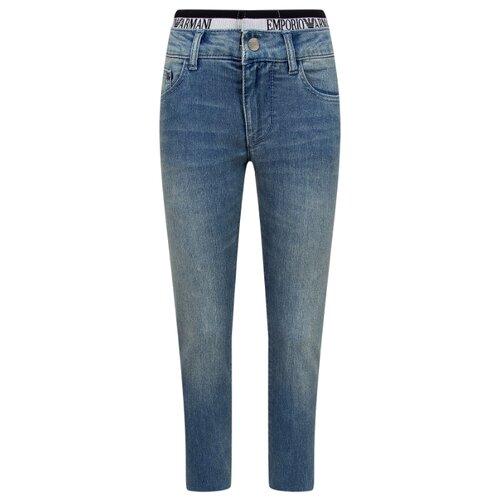 Джинсы EMPORIO ARMANI размер 158, 0942 голубой джинсы женские armani a5j07h1115 aj