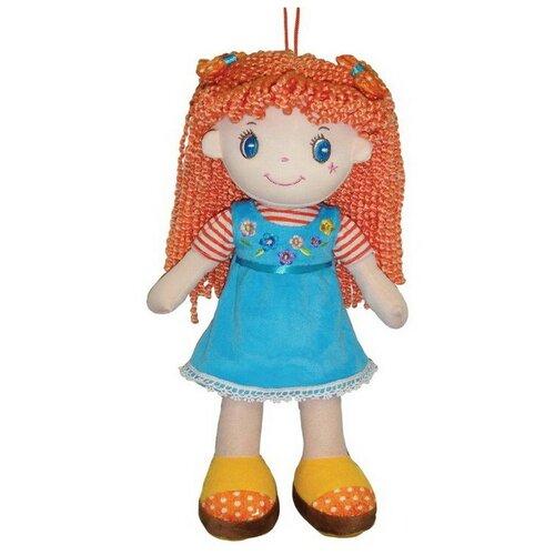 Фото - Мягкая игрушка ABtoys Кукла рыжая в голубом платье 20 см мягкая игрушка abtoys кукла рыжая в голубом платье 20 см