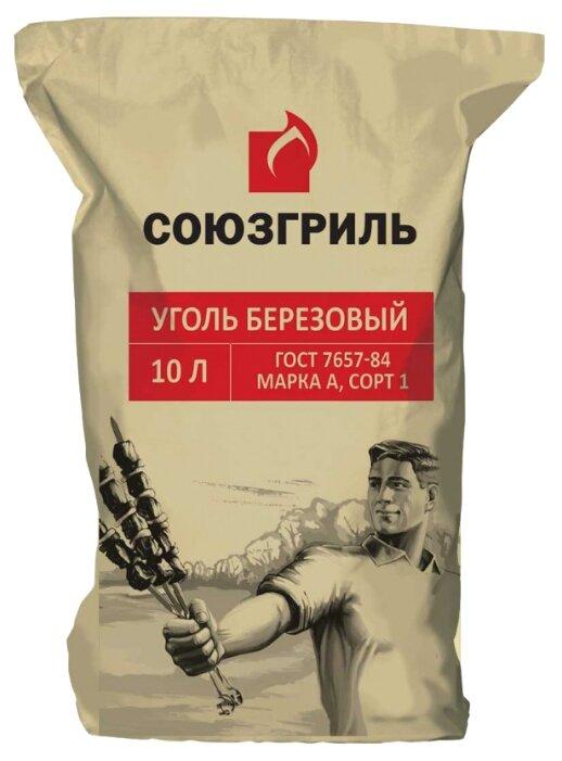 Союзгриль Уголь берёзовый N1-F04, 1.5 кг