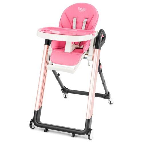Купить Стульчик для кормления Nuovita Orbita розовый/розовый, Стульчики для кормления