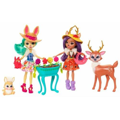 Купить Набор кукол Enchantimals Подруги с любимыми зверюшками, 15 см, FDG01, Куклы и пупсы