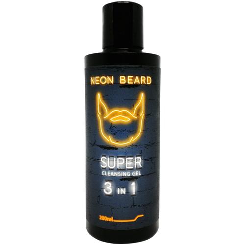 NEON BEARD Гель для умывания Gold Neon 200 мл