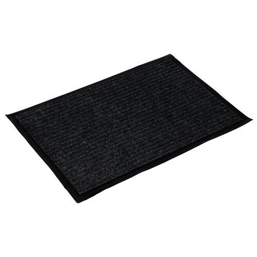 Придверный коврик VORTEX 22080/22079/22078/22077/22076, размер: 0.6х0.4 м, черный коврик придверный vortex palermo цвет кирпичный зеленый 40 х 60 см 22453