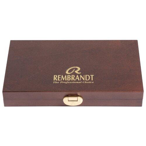 Купить Набор акварельных красок Rembrandt тубы в деревянном коробе, Royal Talens, Краски